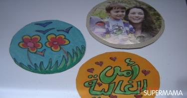 هدايا عيد الأم من صنع اليد مغناطيس ثلاجة