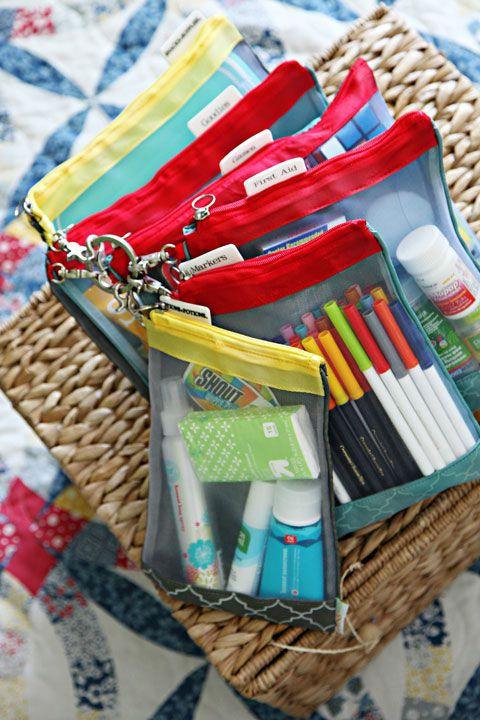 ترتيب وتنظيف المنزل - حافظات بلاستيكية