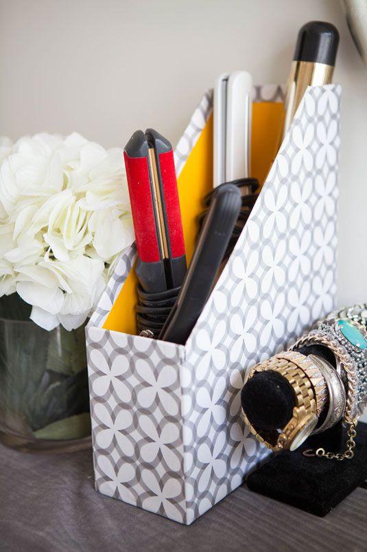 ترتيب وتنظيف المنزل - حافظة ملفات