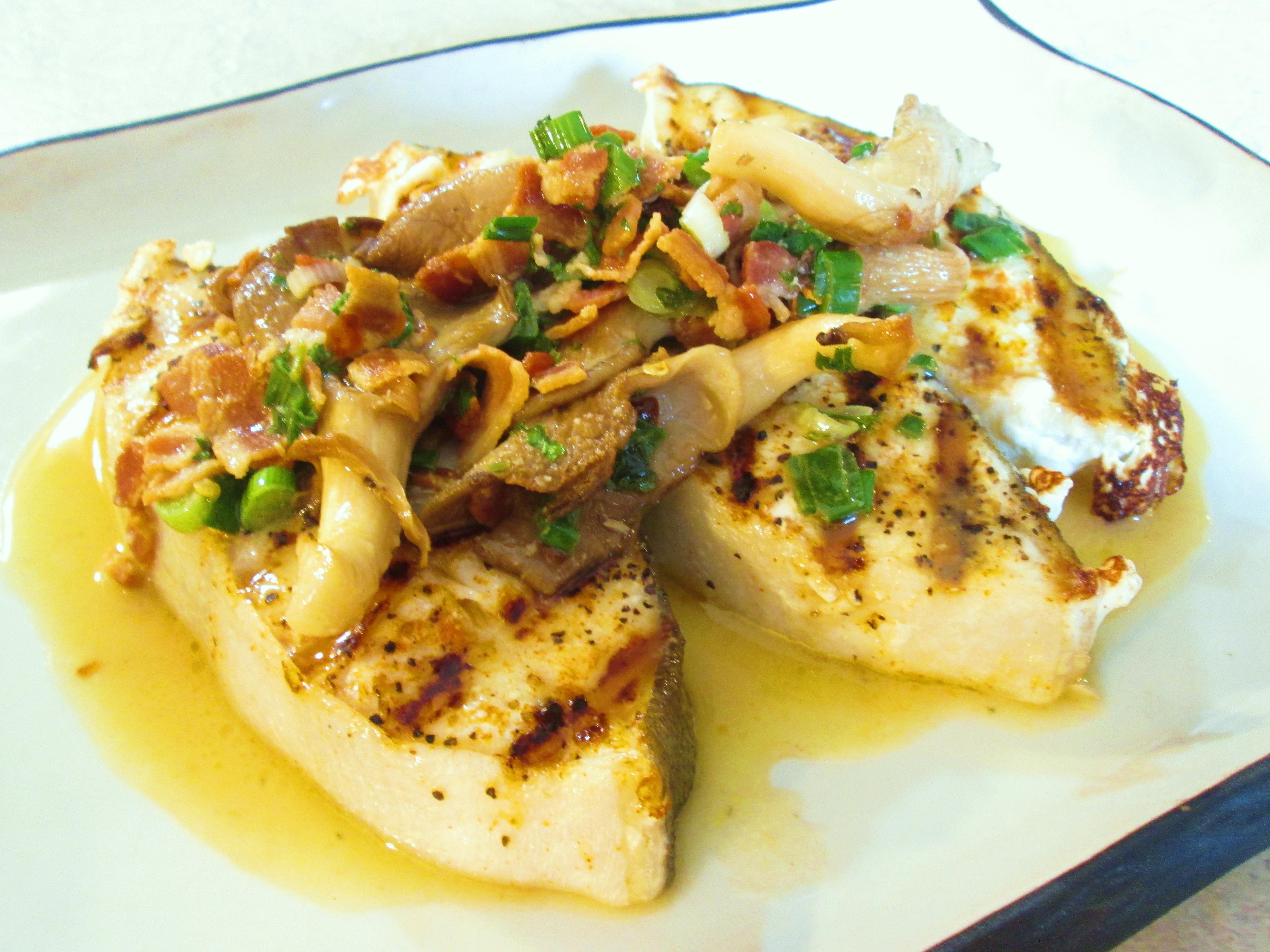 وصفات فيليه السمك - سمك فيليه مشوي بصوص الثوم والليمون