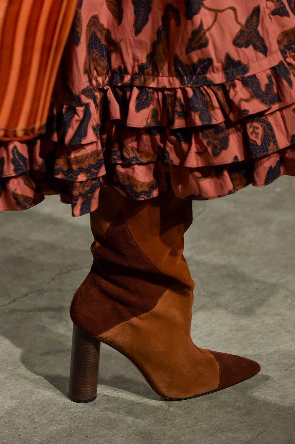 أسبوع الموضة في نيويورك - موضة الأحذية
