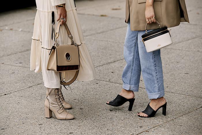 أسبوع الموضة في نيويورك - حقائب كلاسيكية