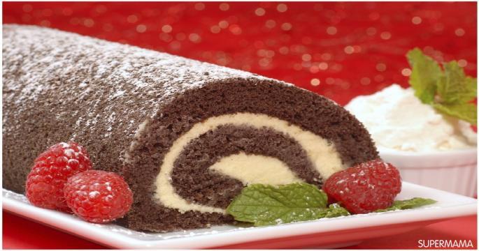 وصفات سويسرول - طريقة عمل سويسرول شوكولاتة
