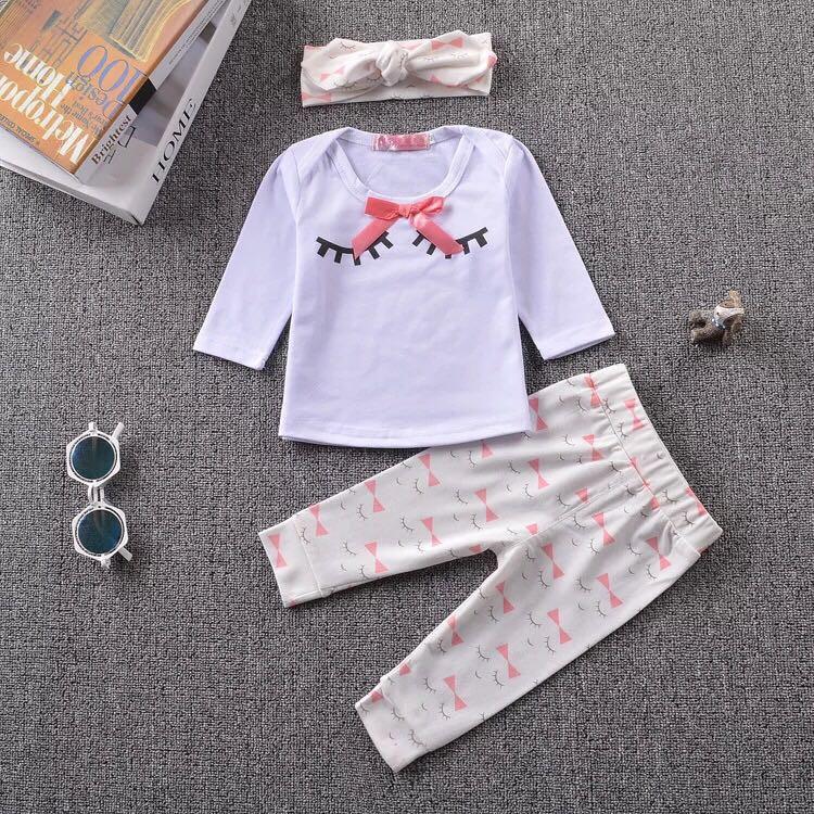 ملابس أطفال حديثي الولادة - بيجامة بناتي