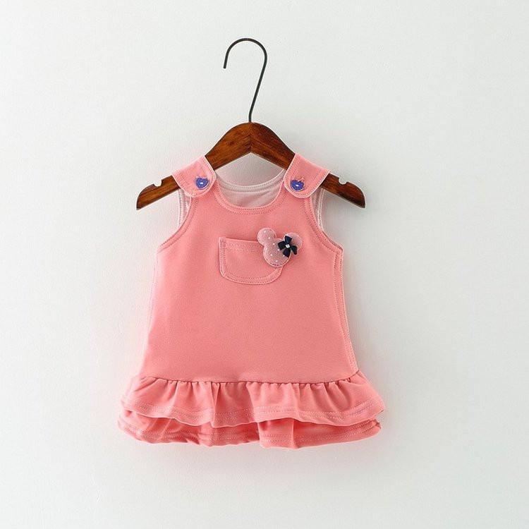 ملابس أطفال حديثي الولادة - فستان بناتي