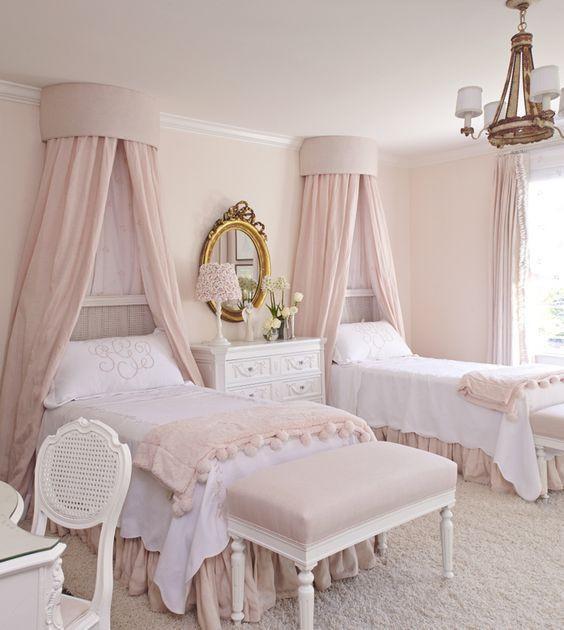 صور غرف نوم أطفال - غرفة الأميرات