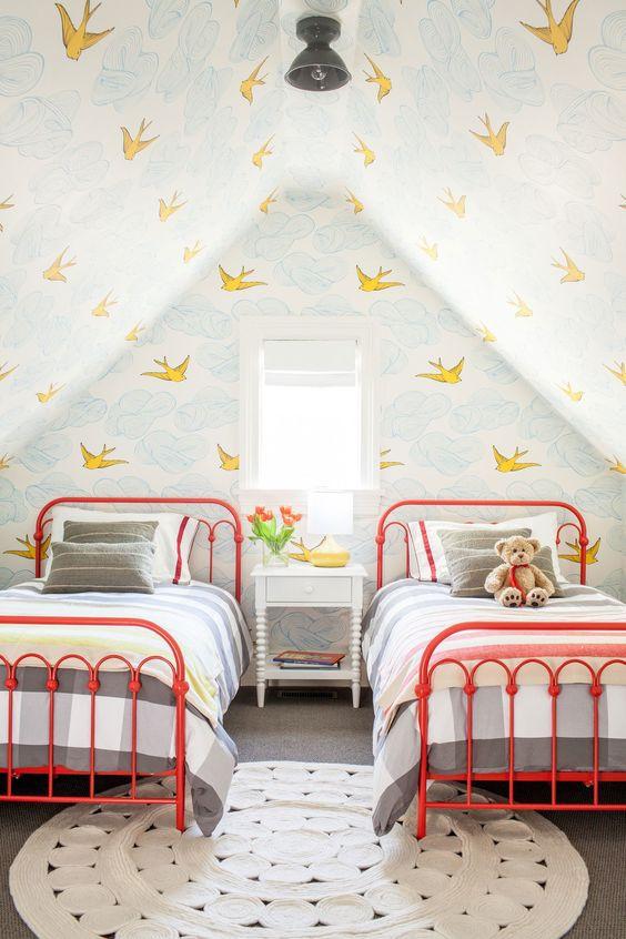 صور غرف نوم أطفال - الغرفة الملونة