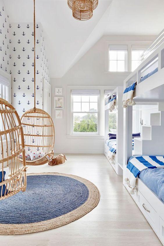 صور غرف نوم أطفال - غرفة البحارة