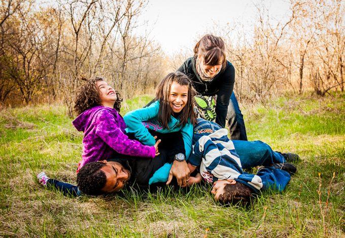 أفكار للصور العائلية - الصور التلقائية