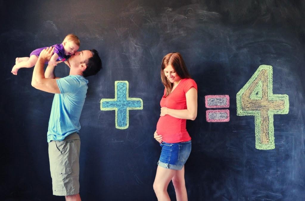 أفكار للصور العائلية - صورة الحمل الثاني