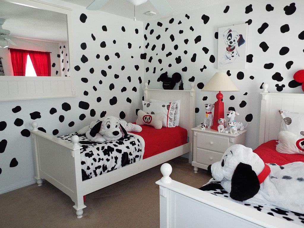 أفكار غرف أطفال - للأطفال محبي الكلاب