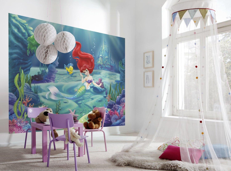 أفكار غرف أطفال - أميرة تحت البحار