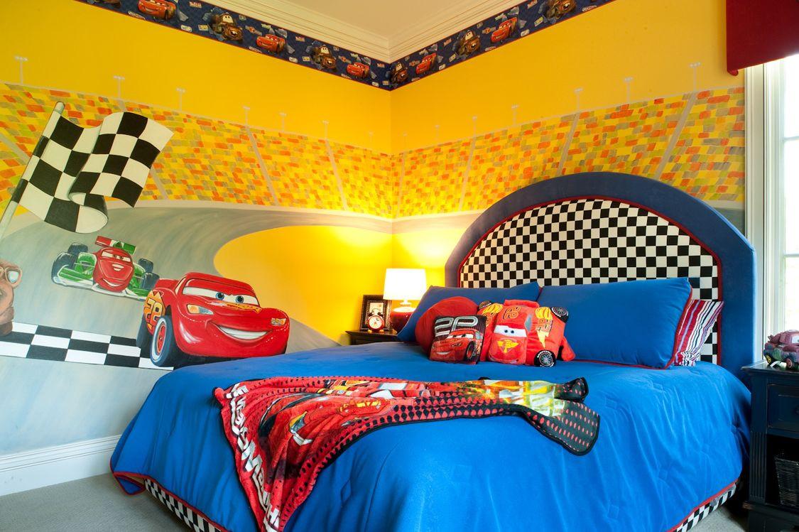 أفكار غرف أطفال - للأطفال عاشقي السيارات