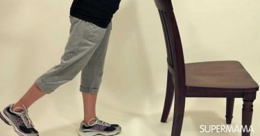 آلام الرقبة والظهر - تمديد الساق