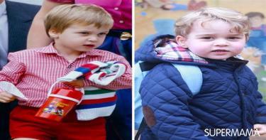 طريقة مونتيسوري في التربية - الأمير جورج والأمير ويليام في الحضانة