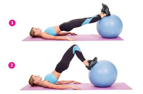 تمارين رياضية مفيدة-تمارين المؤخرة