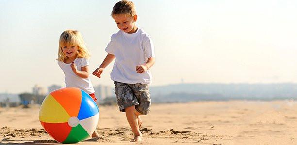 ألعاب البحر للأطفال-كرة الشاطيء