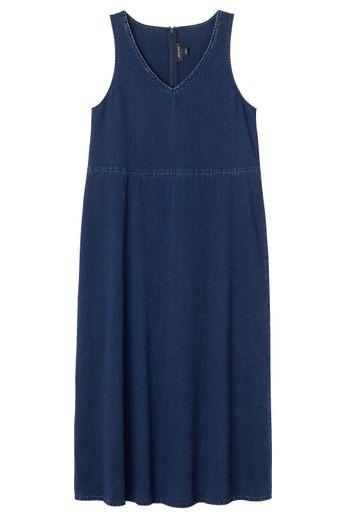 موضة الفساتين الصيفية-فساتين جينز
