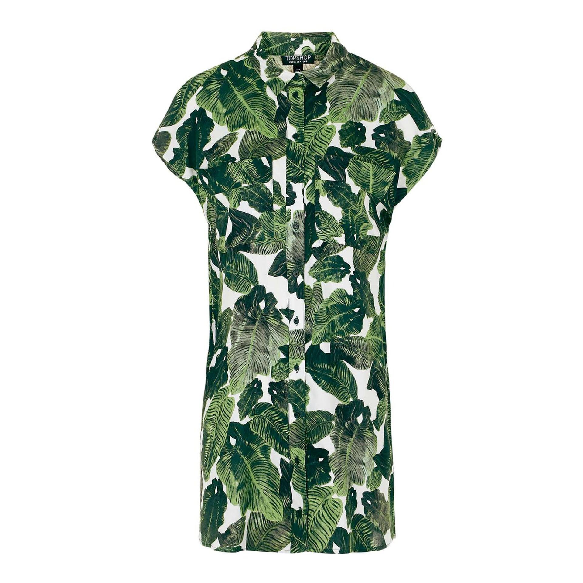 موضة الفساتين الصيفية-فستان بنصف كم