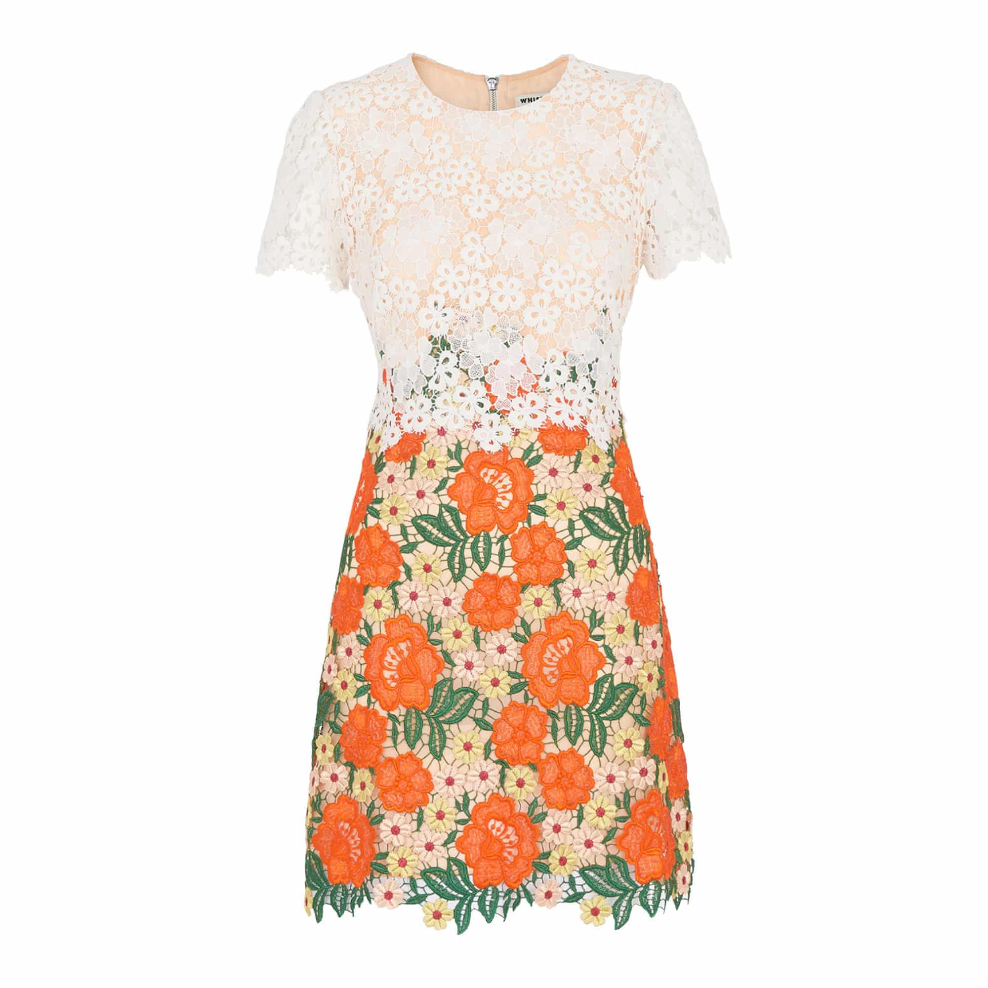 موضة الفساتين الصيفية-الورود الجميلة