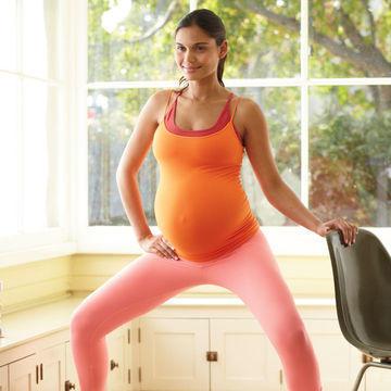 تمارين رياضية للحامل - تمرين الإسكوات