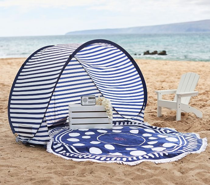 احتياجات الطفل الرضيع في المصيف - خيمة البحر