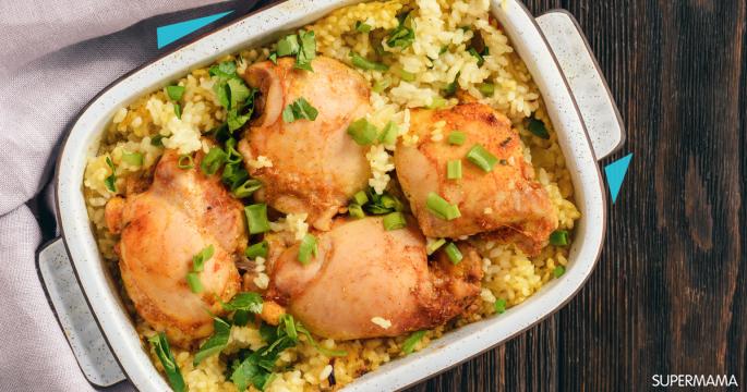 وصفات بالأرز - طريقة عمل أرز بالمرقة