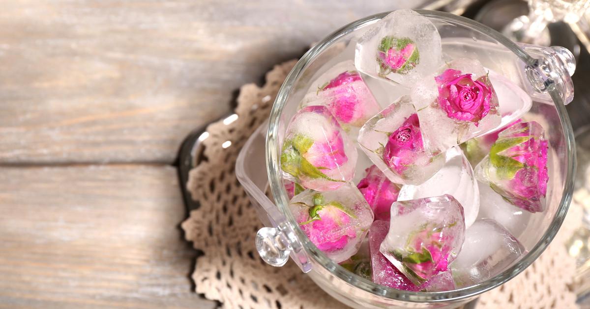 تجميد ماء الورد