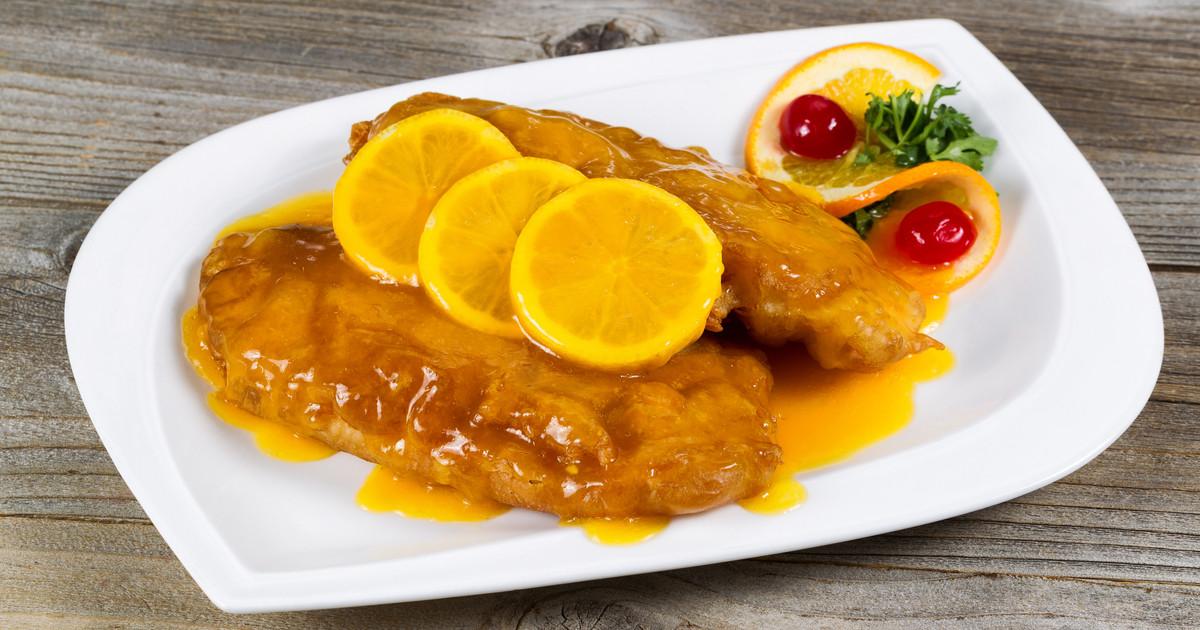 طريقة عمل الدجاج بصوص الليمون