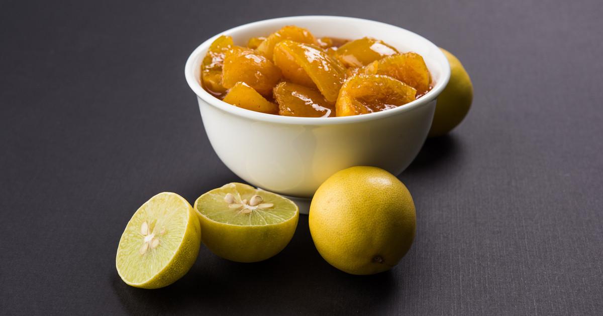 طريقة عمل الليمون المعصفر