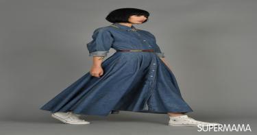 الفستان الجينز