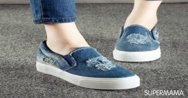 الحذاء الجينز
