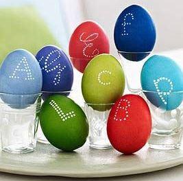 تلوين البيض 1