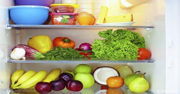 أفكار التخزين المنزلي - التخزين في الثلاجة