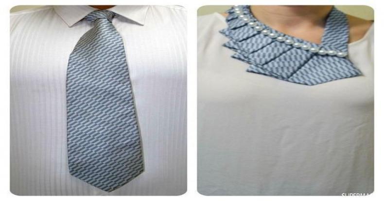 أفكار للإكسسوارات اليدوية - رابطة عنق
