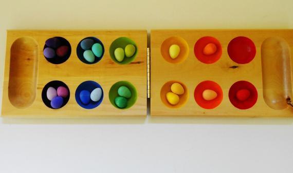 الطفل كثير الحركة - لعبة تنسيق الألوان