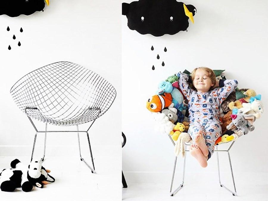 إعادة تدوير ألعاب الأطفال القديمة - تجديد كرسي قديم