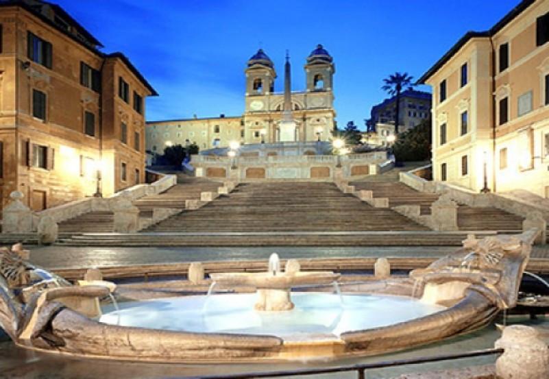 وجهات سياحية في أوروبا - السلالم الاسبانية