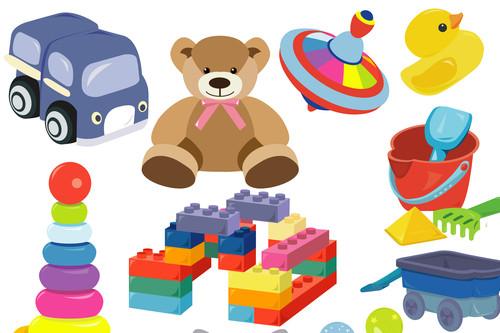 ترتيب ألعاب الأطفال - اختيار أحجام ألعاب مناسبة لمساحة المنزل
