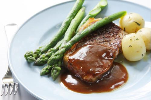 وصفات لشرائح اللحم - طريقة عمل شرائح اللحم بالصوص البني