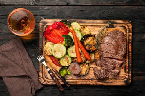 وصفات لشرائح اللحم - طريقة عمل شرائح اللحم بالخضار