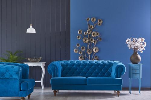 ديكور شقق - الأزرق اليوناني