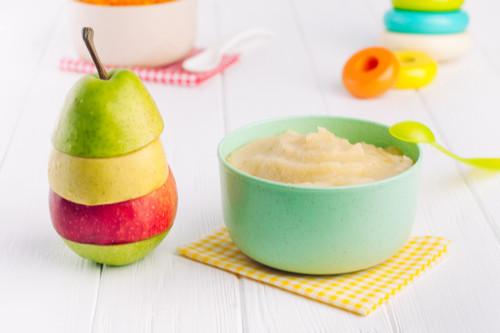 وصفات التفاح للرضع - طريقة عمل مهروس التفاح والكيوي والكمثرى للرضع