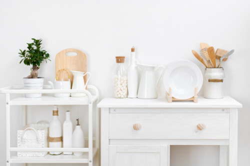 ترتيب المطبخ الصغير - استغلال المساحات