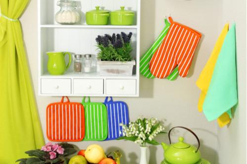 أفكار لترتيب المطبخ - استغلي الحوائط الجانبية