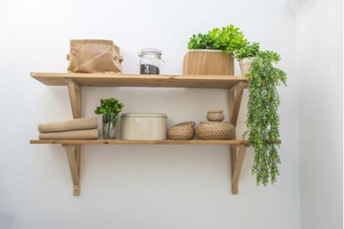 أفكار لترتيب المطبخ - ازرعي نباتات خضراء في المطبخ
