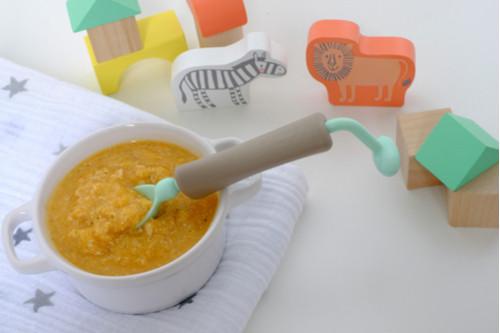 وصفات شوفان للرضع - طريقة عمل مهروس الشوفان والخضار بصفار البيض للرضع