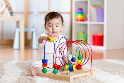 ألعاب أطفال عمر سنتين - لعبة المتاهة