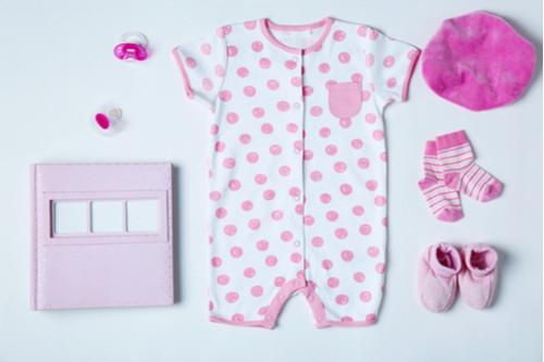 ملابس أطفال حديثي الولادة - سالوبيت صيفي نص كم