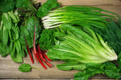 زيادة دسم حليب الأم - الخضروات ذات الأوراق الخضراء